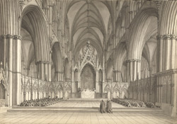 Lincoln Cathedral, service